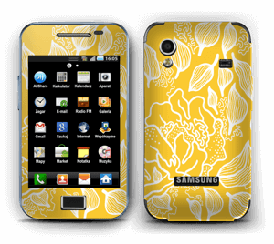 Yellow Flowers  Skin Galaxy Ace