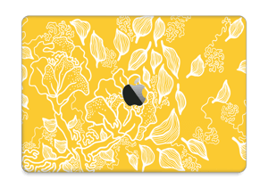 """Yellow Flowers  Skin MacBook Pro 13"""" 2016-"""