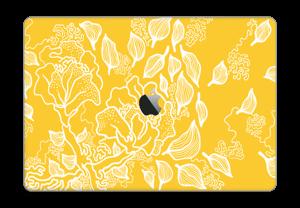 """Bloemenpatroon Skin MacBook Pro 15"""" 2016-"""