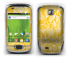 Yellow Flowers  Skin Galaxy Mini