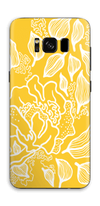 Yellow Flowers  skin Galaxy S8