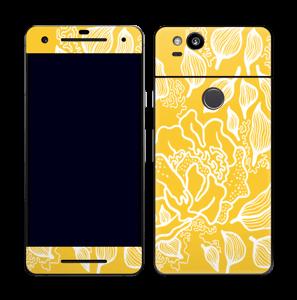 Yellow Flowers  skin Pixel 2