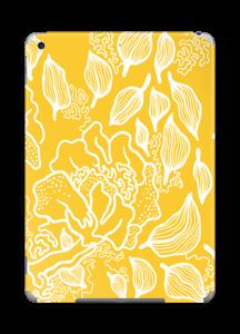 Yellow Flowers  skin IPad 2018