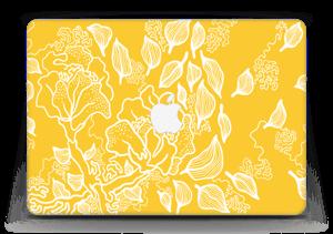 "Yellow Flowers  Skin MacBook Air 13"""