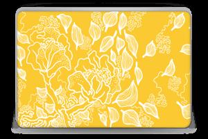 Yellow Flowers  Skin Laptop 15.6