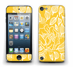 Yellow Flowers  skin IPod Touch 5th Gen