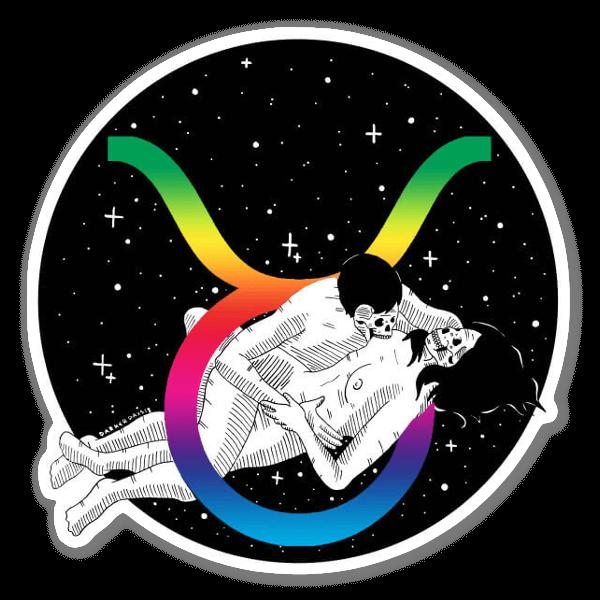 Holographic Taurus  sticker