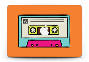 "Mixtape Skin MacBook Pro Retina 13"" 2015"