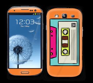 Mixtape Cassette Skin Galaxy S3
