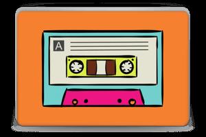 Mixtape  Skin Laptop 15.6
