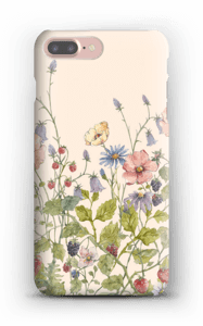 Wild Flowers case IPhone 7 Plus