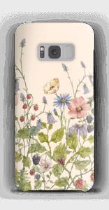Wilde Blumen Handyhülle Galaxy S8