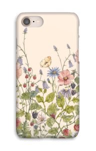 Vilde blomster cover IPhone 8