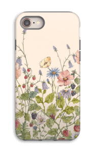 Wild Flowers case IPhone 8 tough