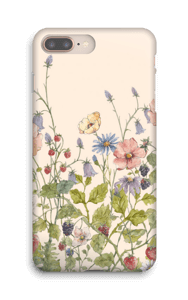 Vilde blomster cover IPhone 8 Plus