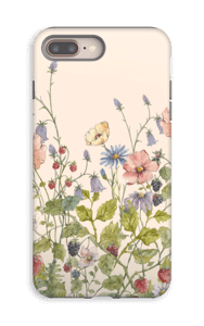 Vilde blomster deksel IPhone 8 Plus tough