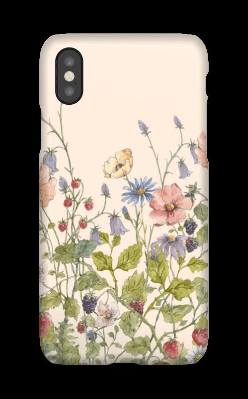 Vilde blomster deksel IPhone X