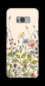 Vilda blommor skal Galaxy S8 Plus