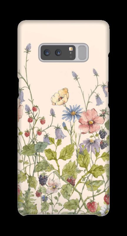 Vilde blomster deksel Galaxy Note8