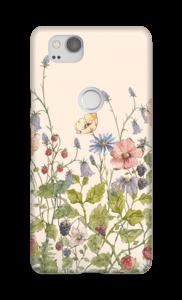 Wilde bloemetjes hoesje Pixel 2
