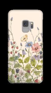 Vilde blomster deksel Galaxy S9
