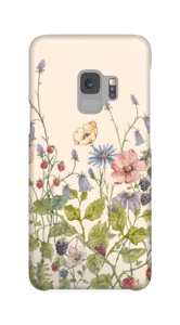 Fleurs sauvages Coque  Galaxy S9