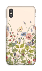 Fleurs sauvages Coque  IPhone XS Max