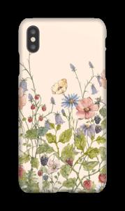 Wilde Blumen Handyhülle IPhone XS Max