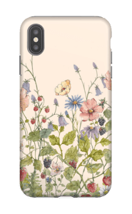 Fleurs sauvages Coque  IPhone XS Max tough