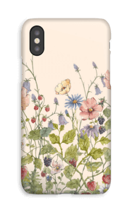 Vilde blomster deksel IPhone XS