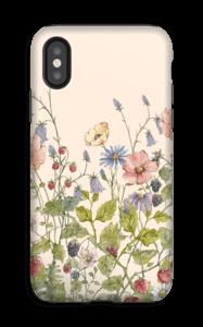 Fleurs sauvages Coque  IPhone XS tough