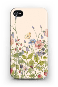 Fleurs sauvages Coque  IPhone 4/4s