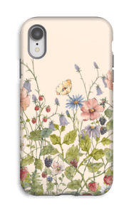 Fleurs sauvages Coque  IPhone XR tough