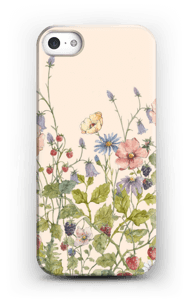 Vilde blomster cover IPhone 5/5S