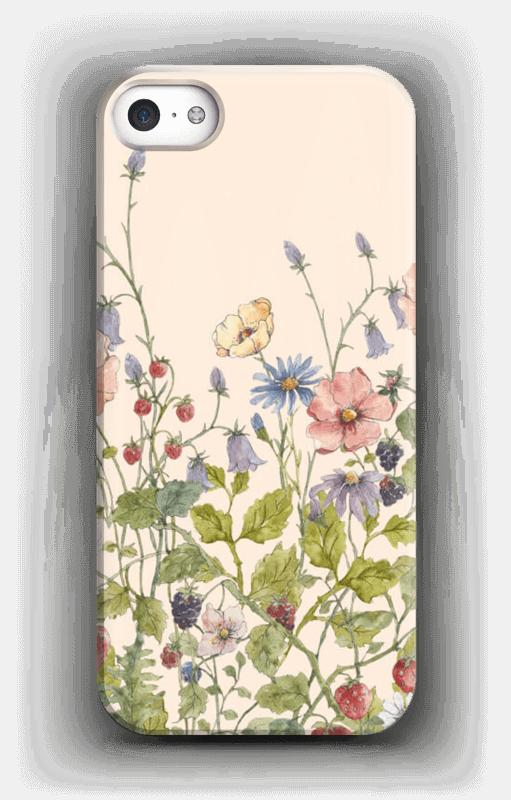 Vilde blomster deksel IPhone 5/5S
