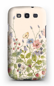 Wild Flowers case Galaxy S3