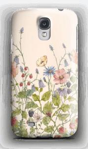 Vilde blomster deksel Galaxy S4