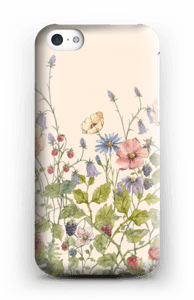 Vilde blomster cover IPhone 5c