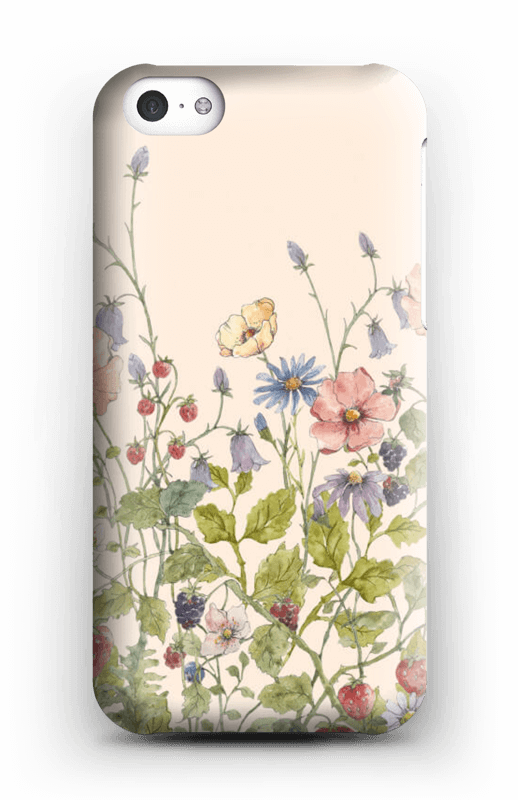 Vilde blomster deksel IPhone 5c