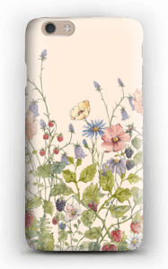 Vilde blomster cover IPhone 6