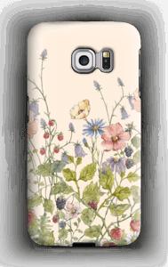 Vilde blomster deksel Galaxy S6 Edge
