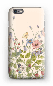 Vilde blomster deksel IPhone 6s Plus tough