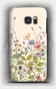 Wilde Blumen Handyhülle Galaxy S7