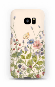 Vilde blomster cover Galaxy S7 Edge
