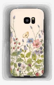 Vilde blomster deksel Galaxy S7 Edge