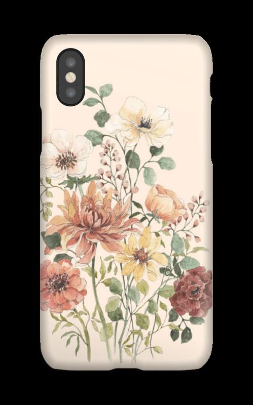 Vårblomster  deksel IPhone X