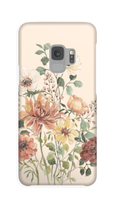 Forårsblomster cover Galaxy S9