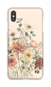 Spring Flowers case IPhone XS Max