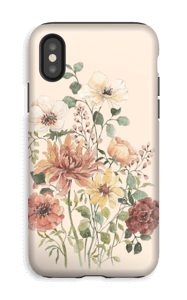 Fleurs des champs Coque  IPhone XS tough