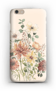 Vårblomster  deksel IPhone 6 Plus